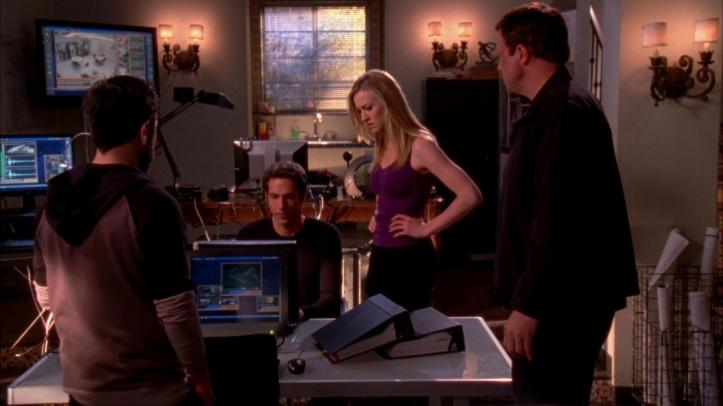 For once Team Bartowski allowing Chuck to use his nerdiness