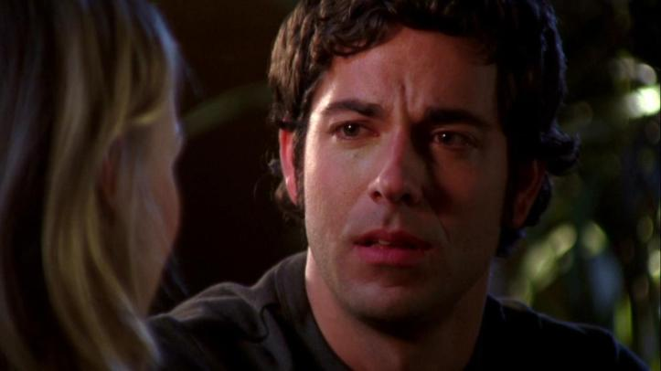 Chuck's expression in break up